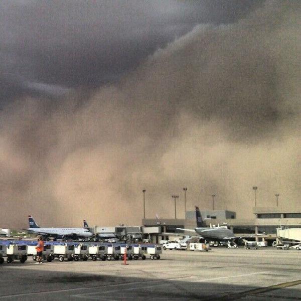 Mighty Dust Storm in Arizona