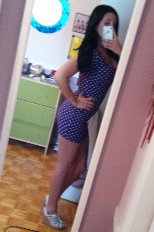 На девушки в коротких платьях 38 фото