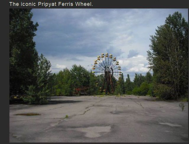 A Visit to the Ghost City of Pripyat