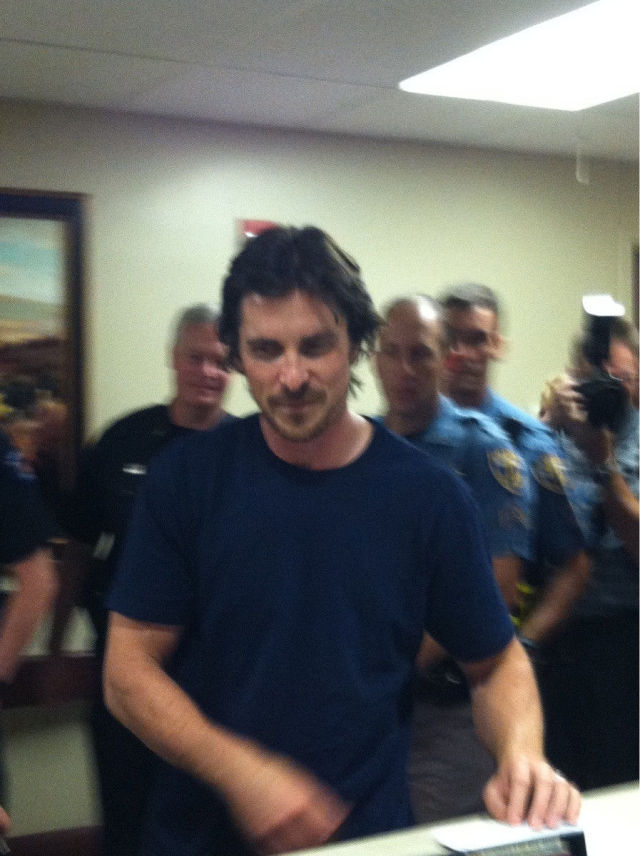 Christian Bale Visits Aurora Shooting Victims