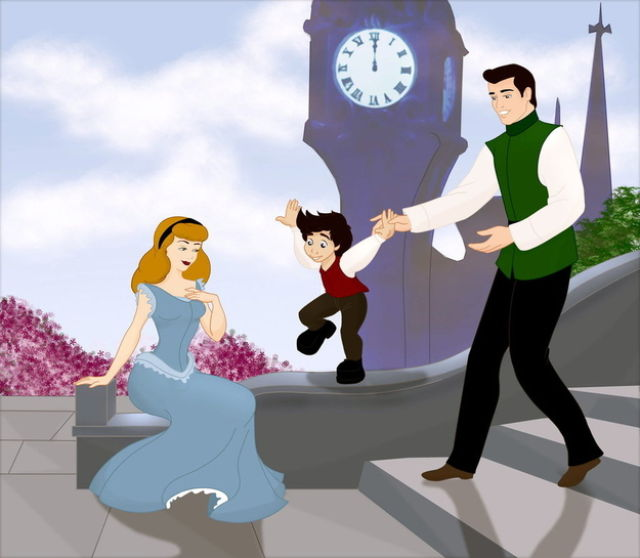 Happily Ever After Disney Families