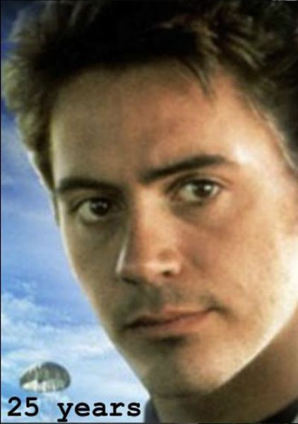 The Aging Timeline of Robert Downey, Jr.
