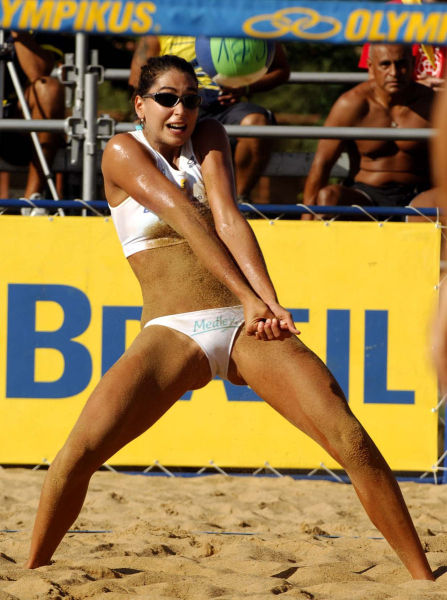 Beach volley ball pussy — 4