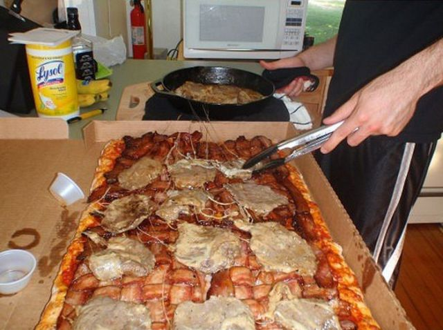 King-Sized Calzone for Evening Meal Time