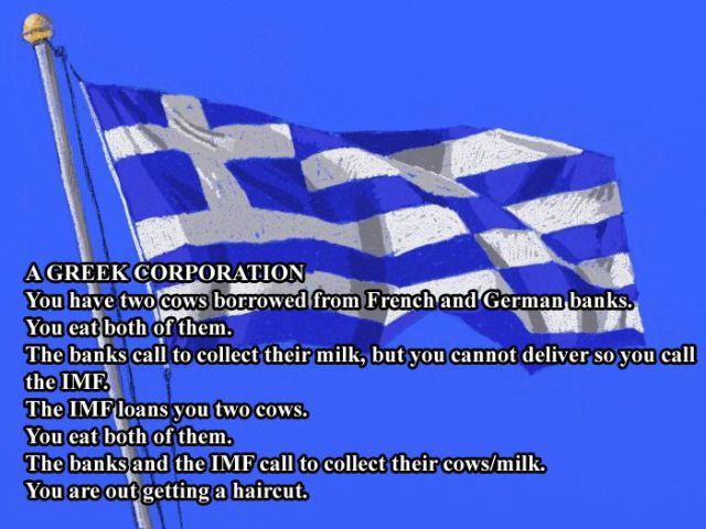 National Corporations Explained by Cows