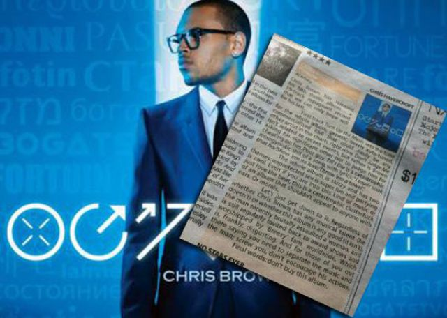 Brutally Honest Chris Brown Album Review