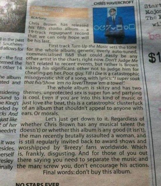 Brutally Honest Chris Brown Album Review