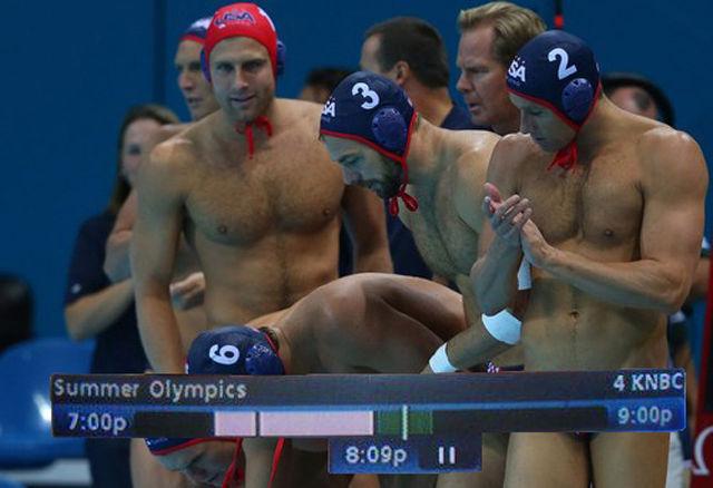 Those Naughty Olympics