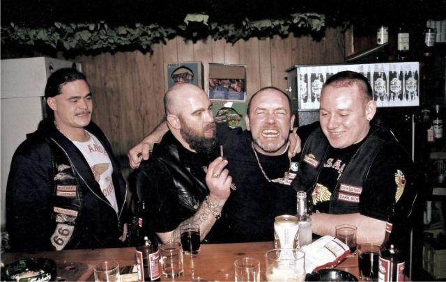 A Rare Glimpse into Hells Angels Motor Gang's Life