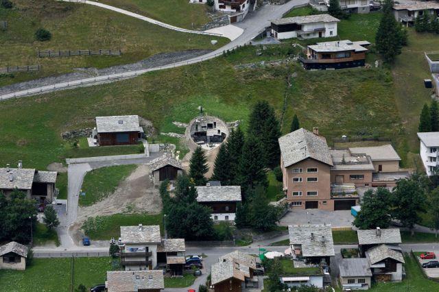 Amazing Swiss House Inside a Hill