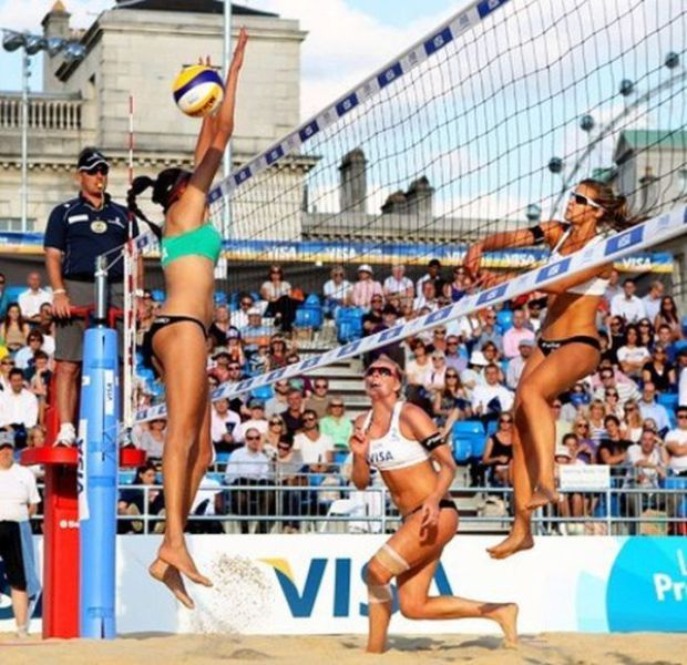 Another Portion of Olympic Volleyball Loveliness
