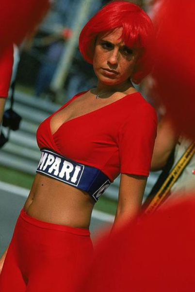 The Lovely Pit Babes of F1 from All Over the World
