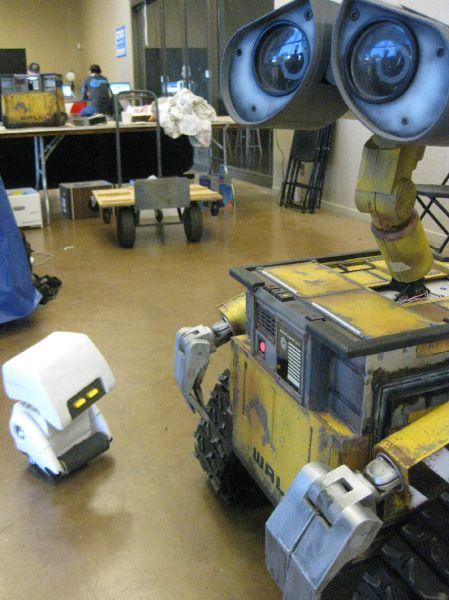 Cute WALL-E Robot IRL
