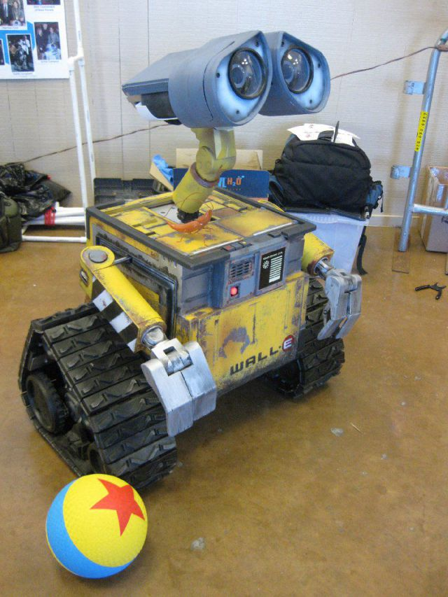 Cute WALL-E Robot IRL