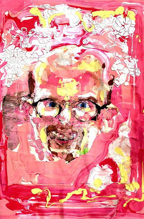 Self-Portraits Series Done on Drugs