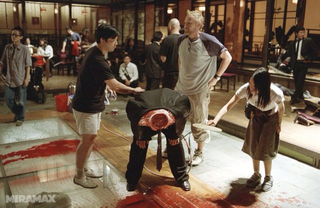 "Making of the ""Kill Bill"" Bloodbath Scene"