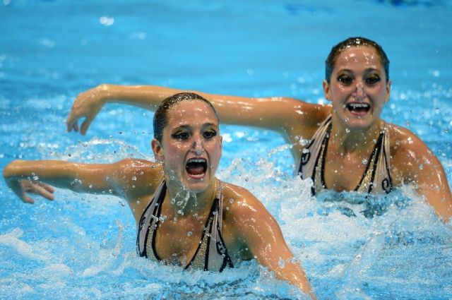 Ridiculously Awkward Synchro Swimmers' Faces