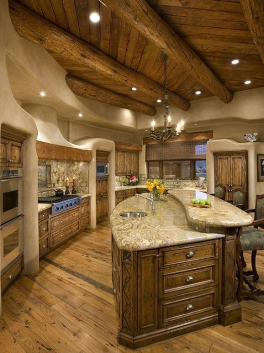 Kitchens on pinterest luxury kitchens rustic kitchens and kitchen ideas - Luxurious traditional kitchen ideas ...