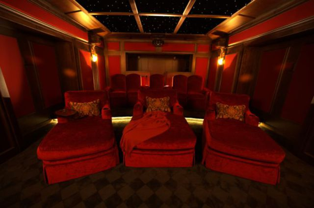Outstanding Private Movie Theaters
