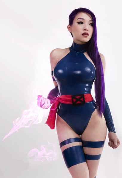 Curvy Cosplayers Wearing Latex