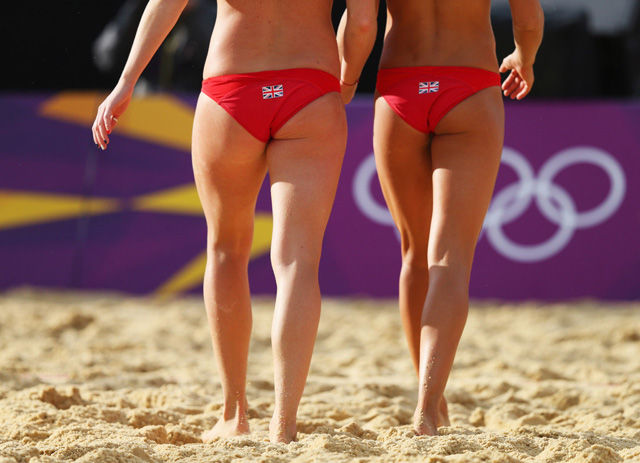 Olympic Sports Photographed Like Beach Volleyball