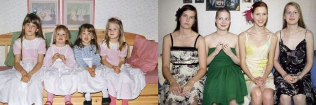 Then and Now – 4 Sisters Edition