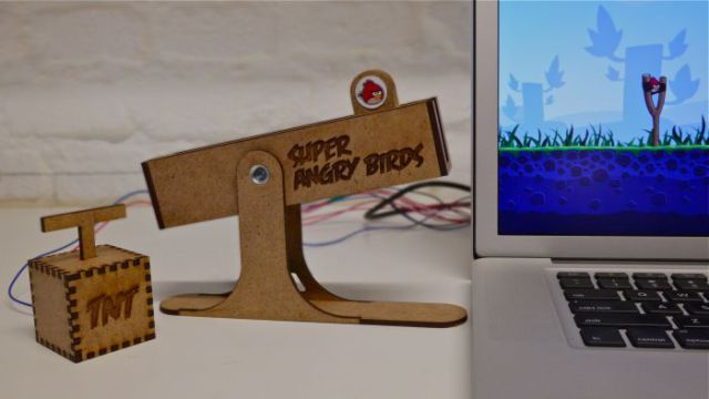 Awesome Handmade Angry Birds Controller