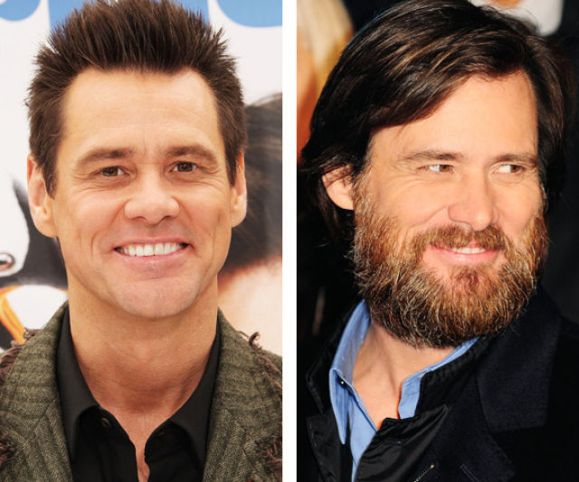 Celebrities Growing Facial Hair