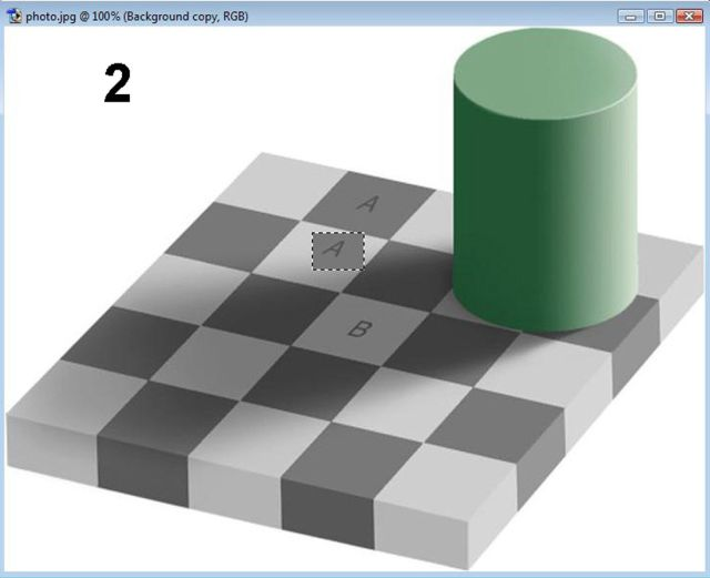 Fantastic Checkerboard Shadow Illusion