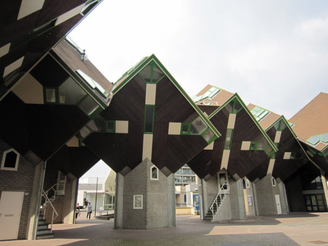 Cube Houses from the Netherlands
