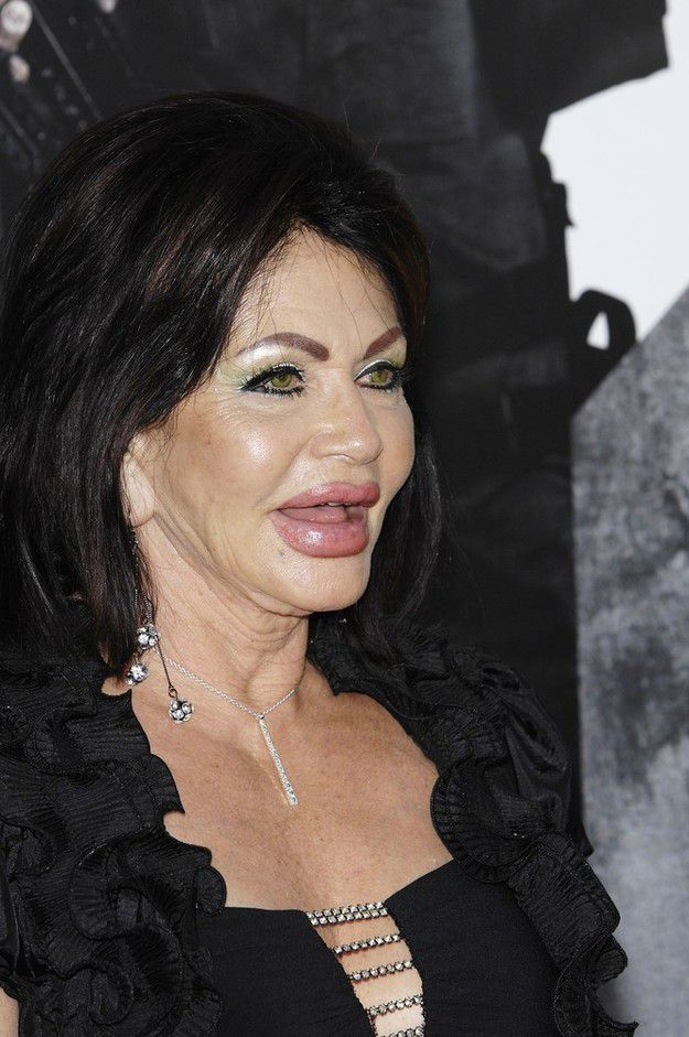 New Face of Stallone's Mother