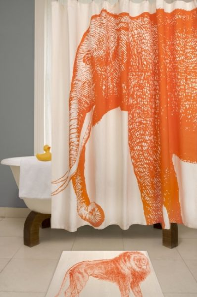 Not Your Typical Shower Curtains