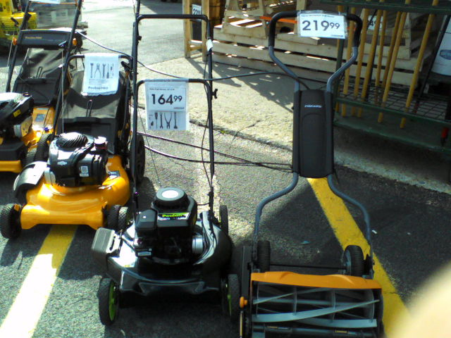 WTF lawn mover prices?