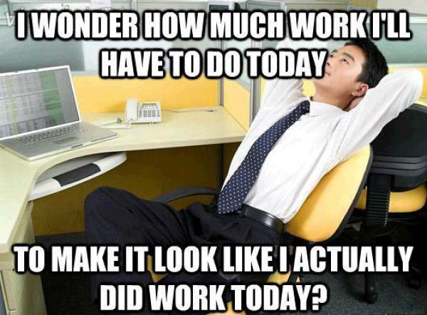"""""""Office Thoughts"""" Meme Selection"""