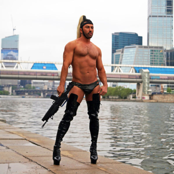 Russian DJ Has a Very Special Fashion Sense