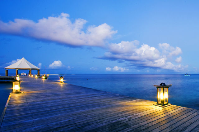 Luxurious Resort on Private Island in Maldives