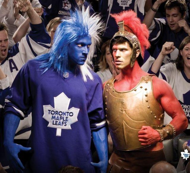 The Craziest NHL Fans