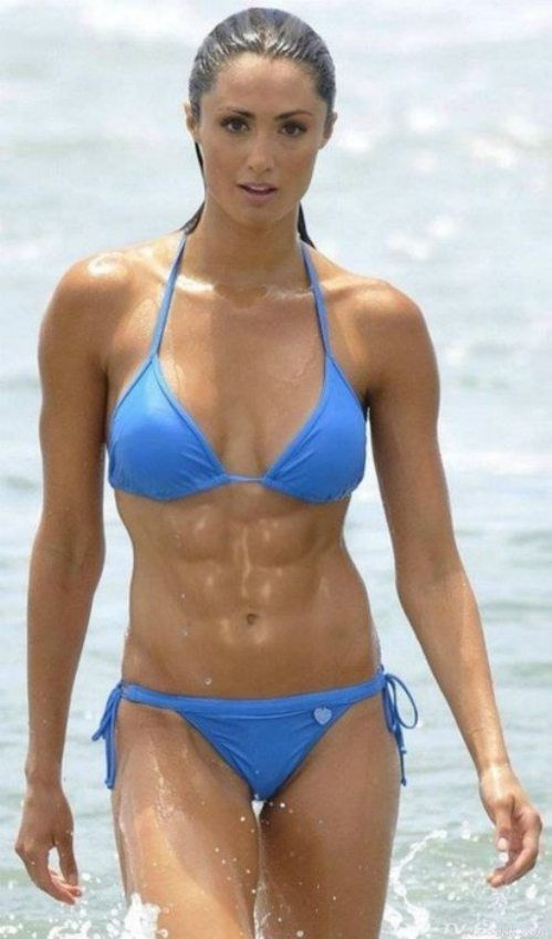 Girls with Abs, Hot or Not?