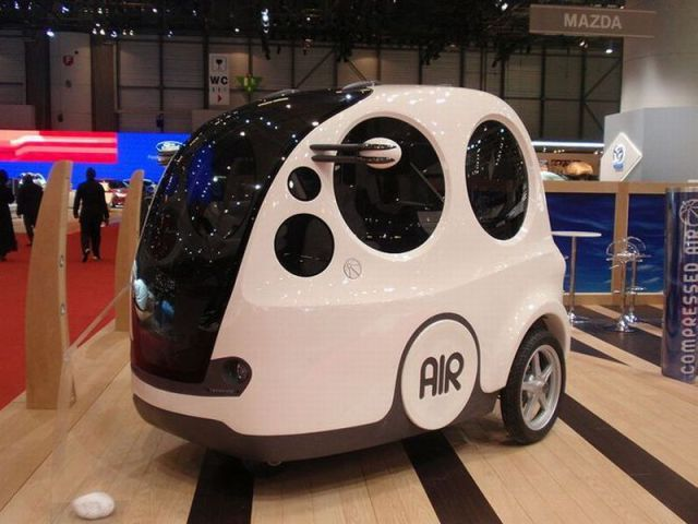 AirPod – a Possible Alternative to Fuel Cars