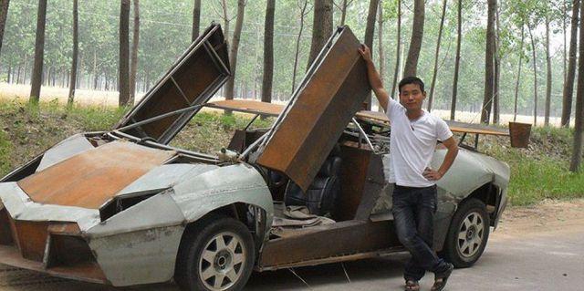 Chinese Homebuilt Lamborghini Reventon
