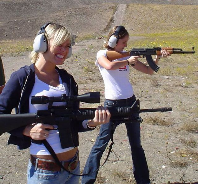 Girls and Guns, The Perfect Match