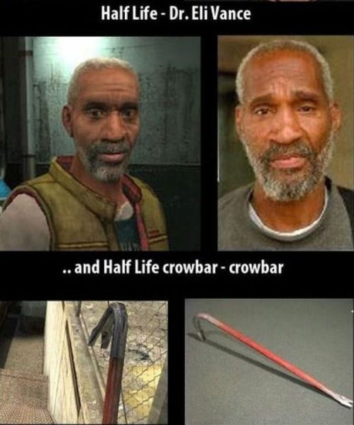Video Game Characters and Their IRL Counterparts
