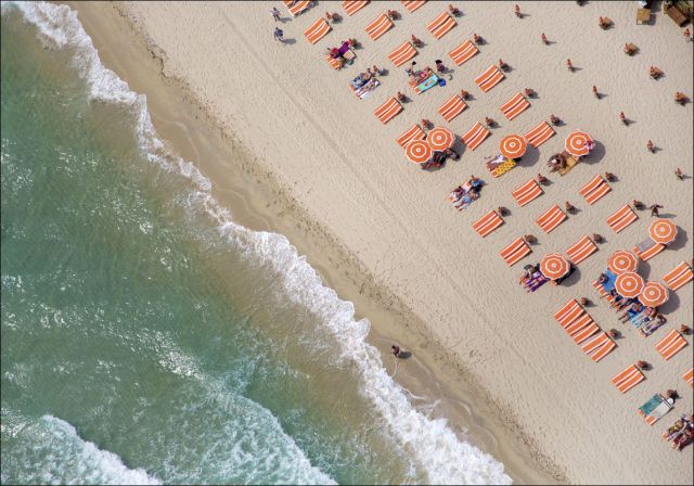 World Beaches from a Bird's Eye View