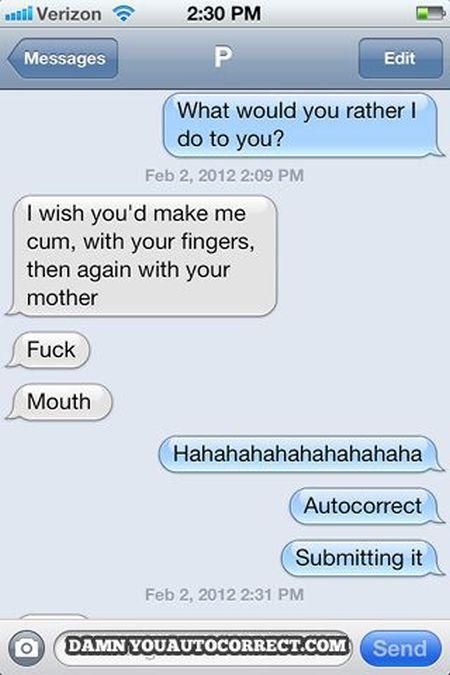 Autocorrect Fails - Sexting Edition