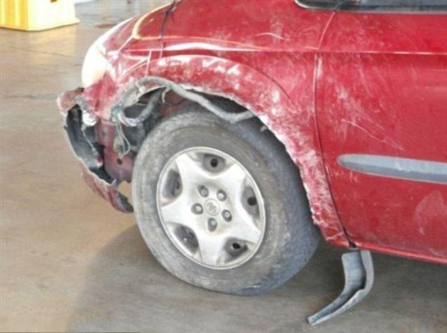 What Enraged Pit Bulls Can Do to a Car