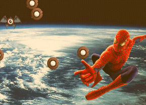 Spiderman Space Shooting