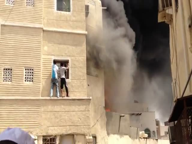 Two Teens Save Boy Trapped in Burning Building