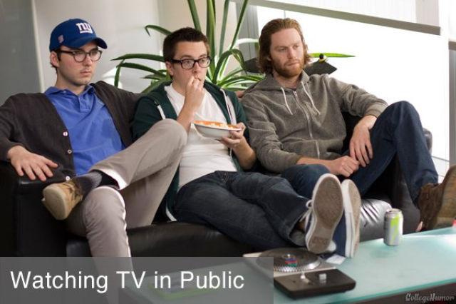 In Private vs. In Public