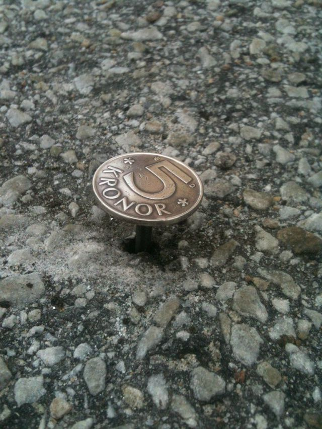 """Lost Coin"" Prank Done the New Way"