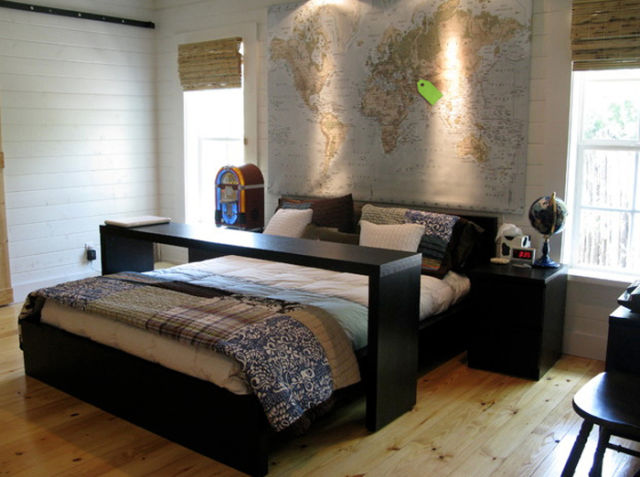 really cool examples of bed design 33 pics. Black Bedroom Furniture Sets. Home Design Ideas
